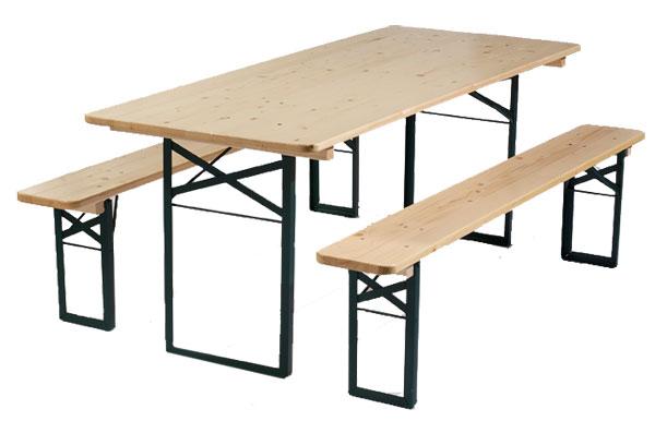 Tarifs communaux - Ensemble table et banc ...
